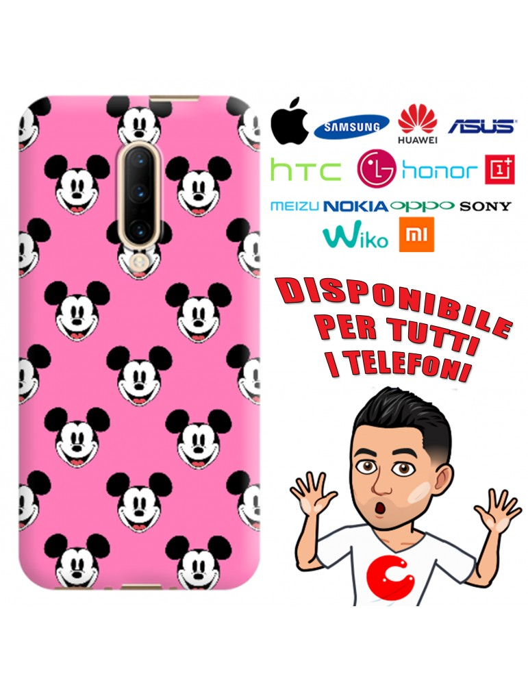 COVER 90th MICKEY MOUSE PER APPLE IPHONE, SAMSUNG GALAXY, HUAWEI, ASUS, WIKO, XIAOMI, HONOR, ONEPLUS