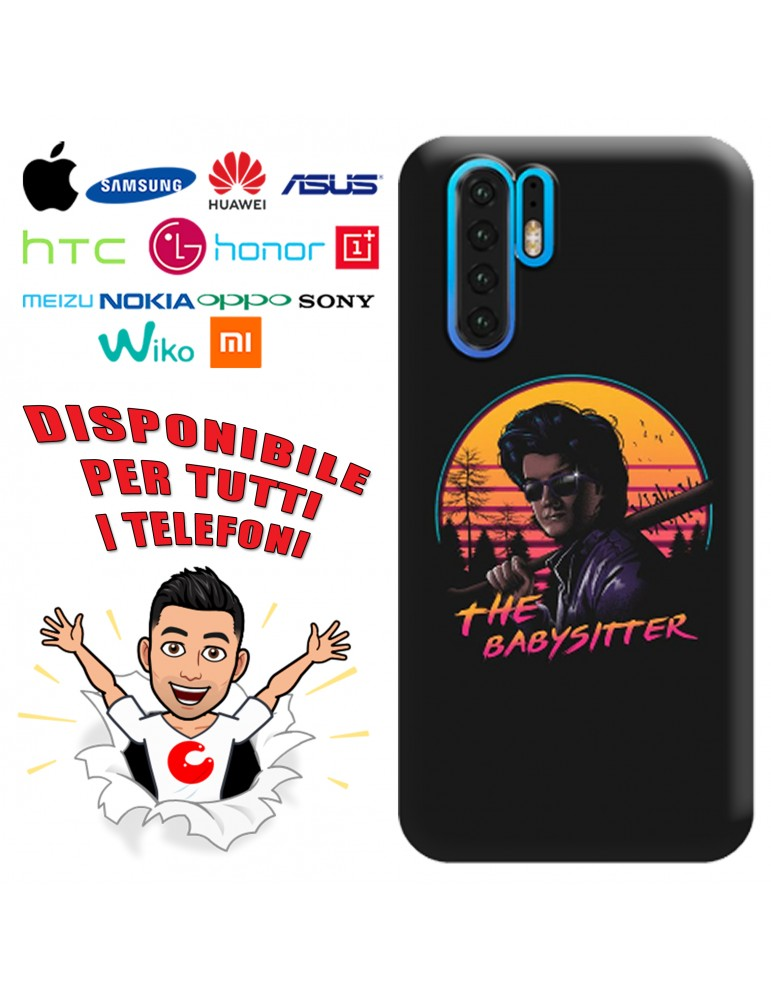 COVER STRANGER THINGS THE BABYSITTER PER APPLE IPHONE, SAMSUNG GALAXY, HUAWEI, ASUS, WIKO, XIAOMI, HONOR, ONEPLUS