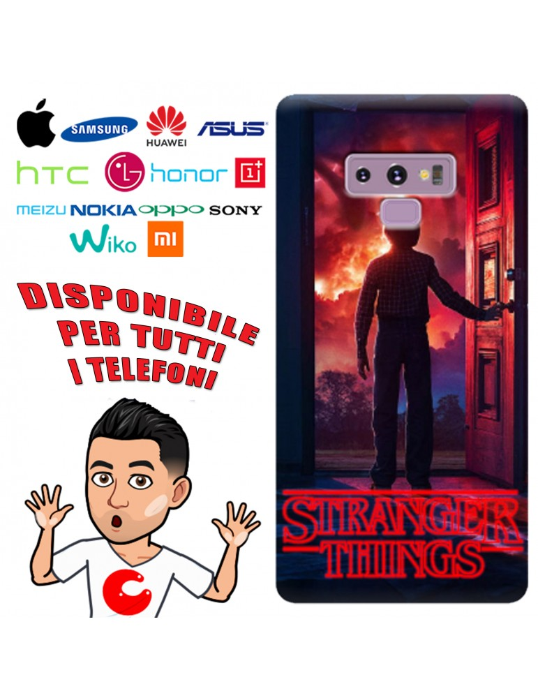COVER STRANGER THINGS 2 PER APPLE IPHONE, SAMSUNG GALAXY, HUAWEI, ASUS, WIKO, XIAOMI, HONOR, ONEPLUS