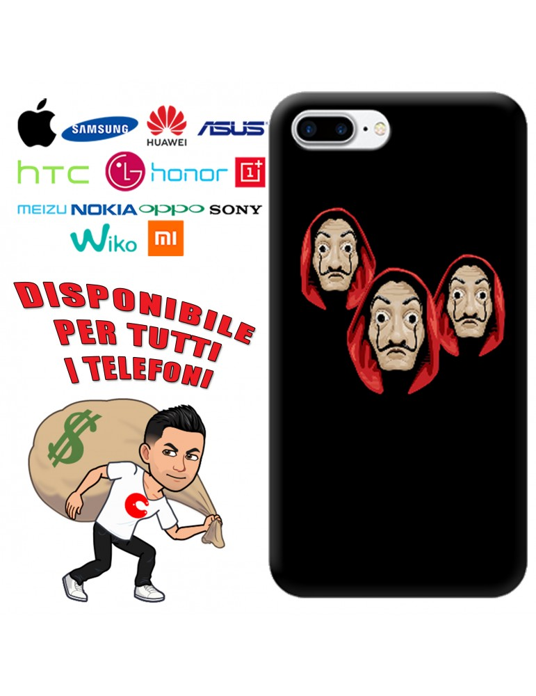 COVER LA CASA DE PAPEL GAUDI PER APPLE IPHONE, SAMSUNG GALAXY, HUAWEI, ASUS, WIKO, XIAOMI, HONOR, ONEPLUS