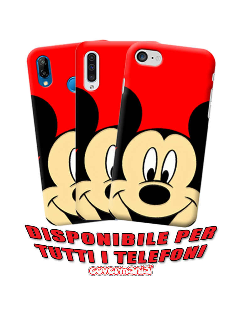 COVER SPECIAL EDITION MICKEY MOUSE PER APPLE IPHONE, SAMSUNG GALAXY, HUAWEI, ASUS, WIKO, XIAOMI, HONOR, ONEPLUS