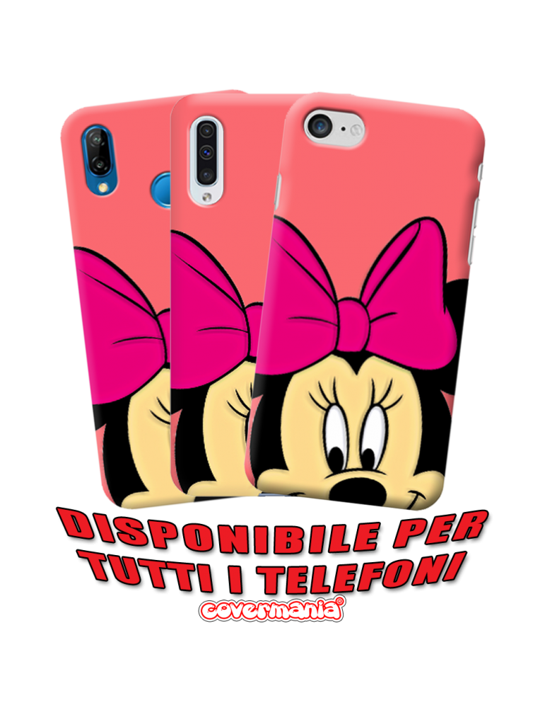 COVER SPECIAL EDITION MINNIE MOUSE PER APPLE IPHONE, SAMSUNG GALAXY, HUAWEI, ASUS, WIKO, XIAOMI, HONOR, ONEPLUS