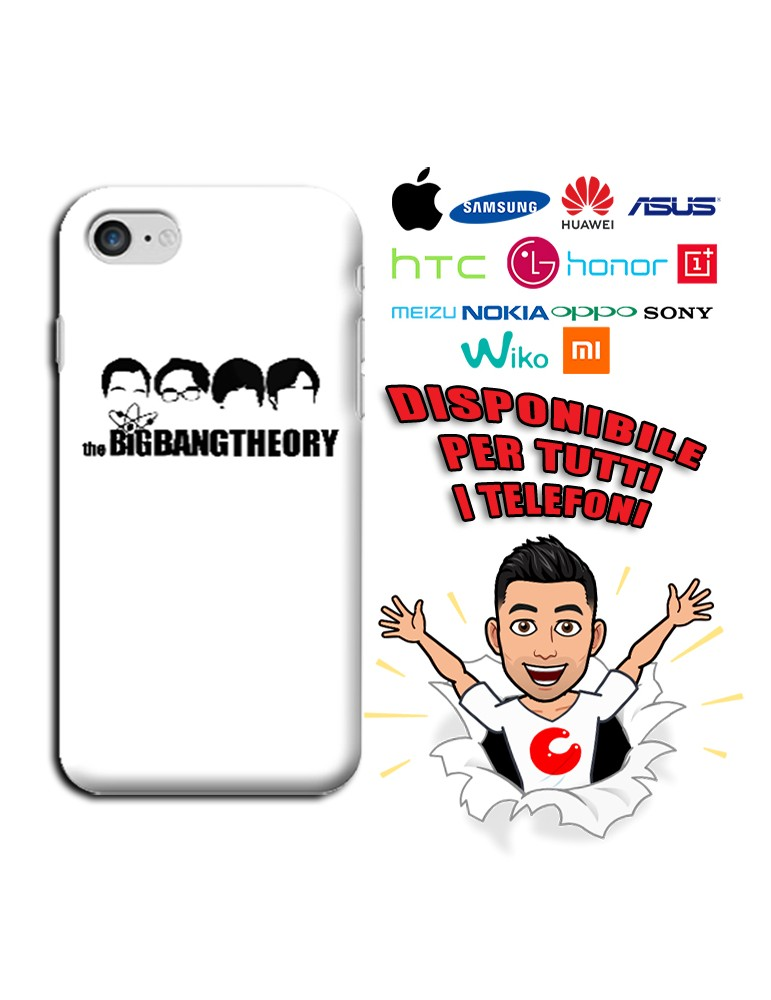 COVER THE BIG BANG THEORY PER APPLE IPHONE, SAMSUNG GALAXY, HUAWEI, ASUS, WIKO, XIAOMI, HONOR, ONEPLUS